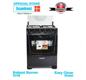 Scanfrost Gas Cooker 4...